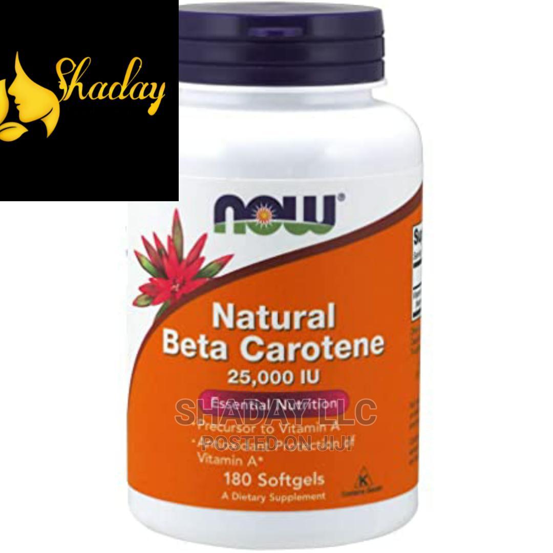 Now Natural Beta Carotene