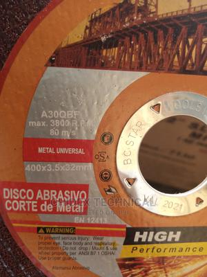 """Metal Cutting Disc 400x3.5x3.2mm (16"""") 
