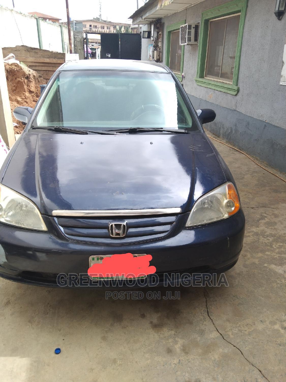 Honda Civic 2002 Blue