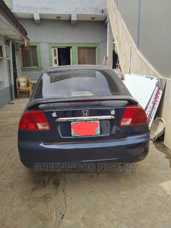 Honda Civic 2002 Blue | Cars for sale in Agboyi/Ketu, Lagos State, Nigeria