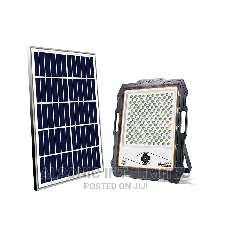 CCTV Security WIFI IP Camera With Solar Panel Battery Powere