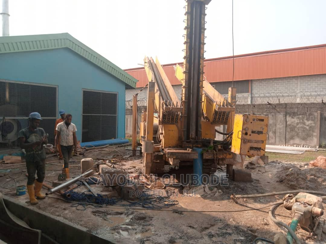 DRILLING RIG Capacity: 600m Complete With Pipes | Heavy Equipment for sale in Ifako-Ijaiye, Lagos State, Nigeria