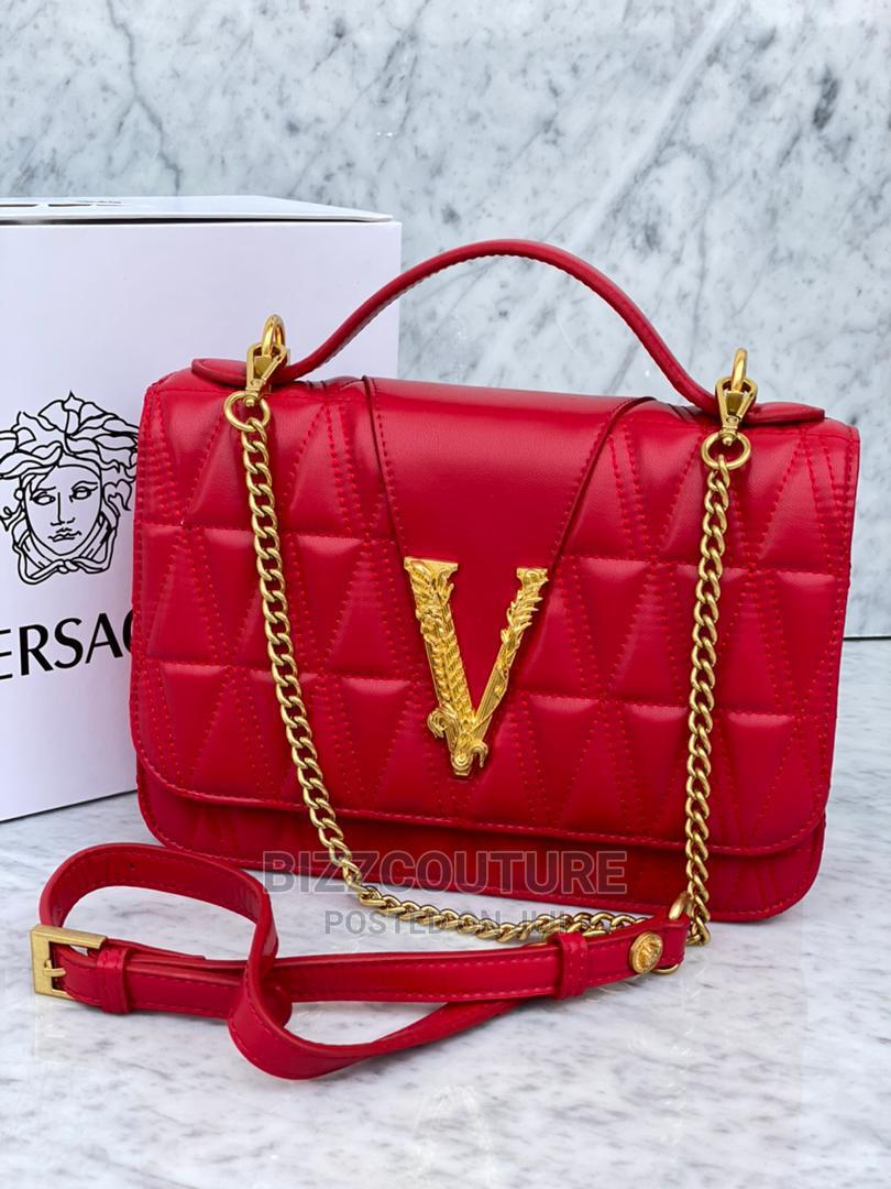 High Quality Versace White Leather Bags for Ladies   Bags for sale in Magodo, Lagos State, Nigeria