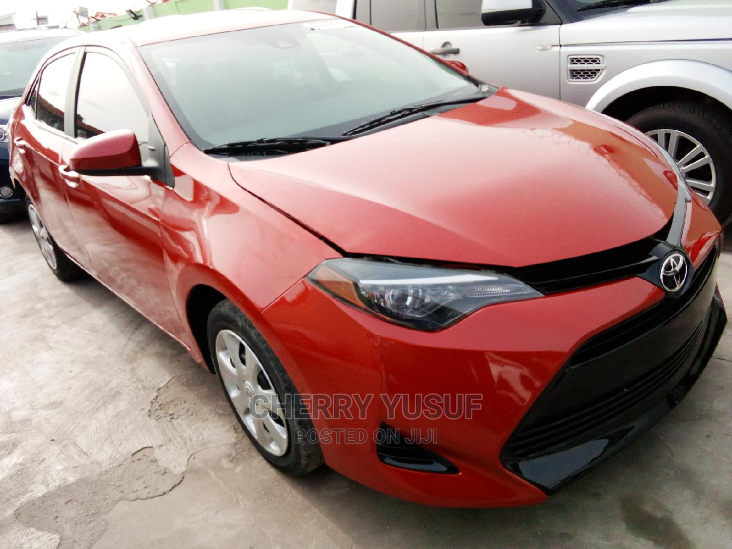 Toyota Corolla 2017 Red | Cars for sale in Ikeja, Lagos State, Nigeria