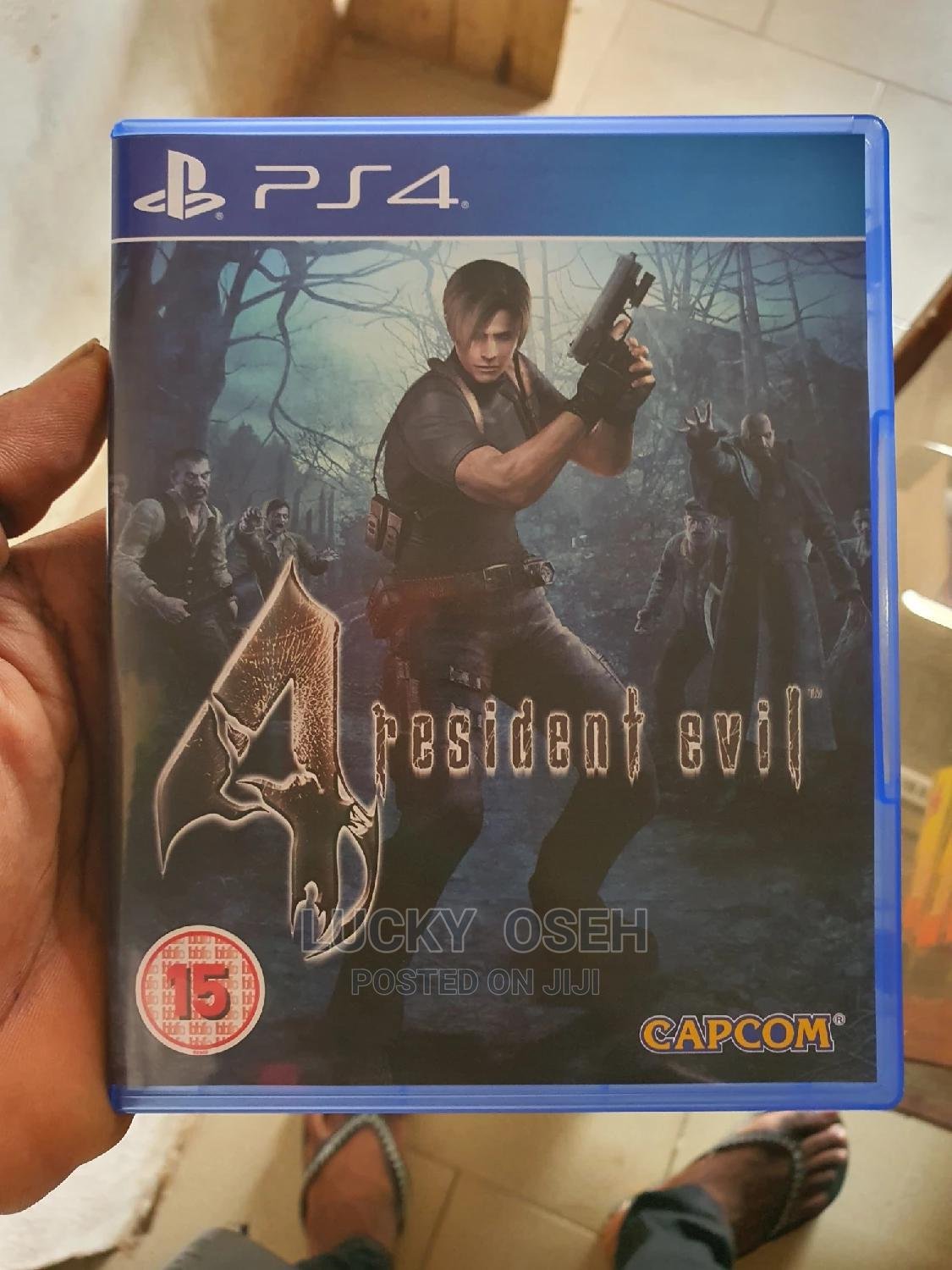 Archive: Resident Evil 4 Ps4