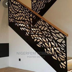 Laser Cut Handrail, Fence Grill, Gates and Barriers   Building & Trades Services for sale in Lagos State, Lekki