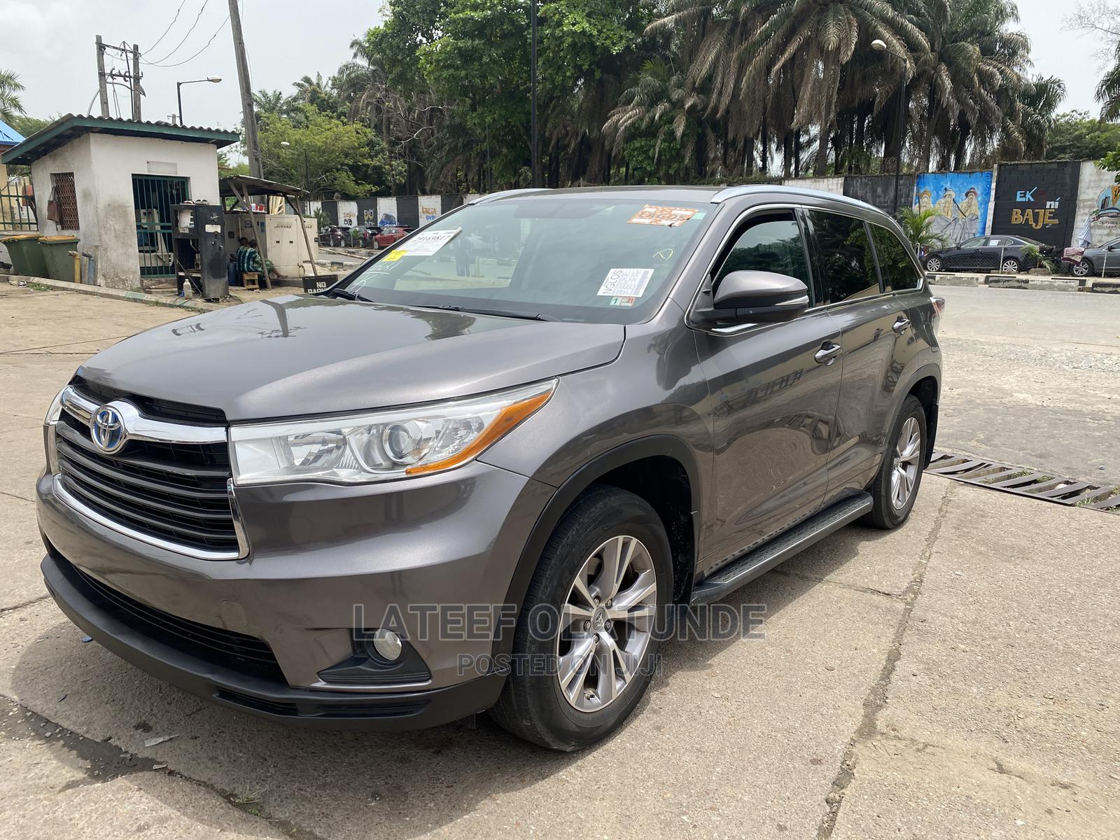 Toyota Highlander 2014 Gray   Cars for sale in Ikoyi, Lagos State, Nigeria