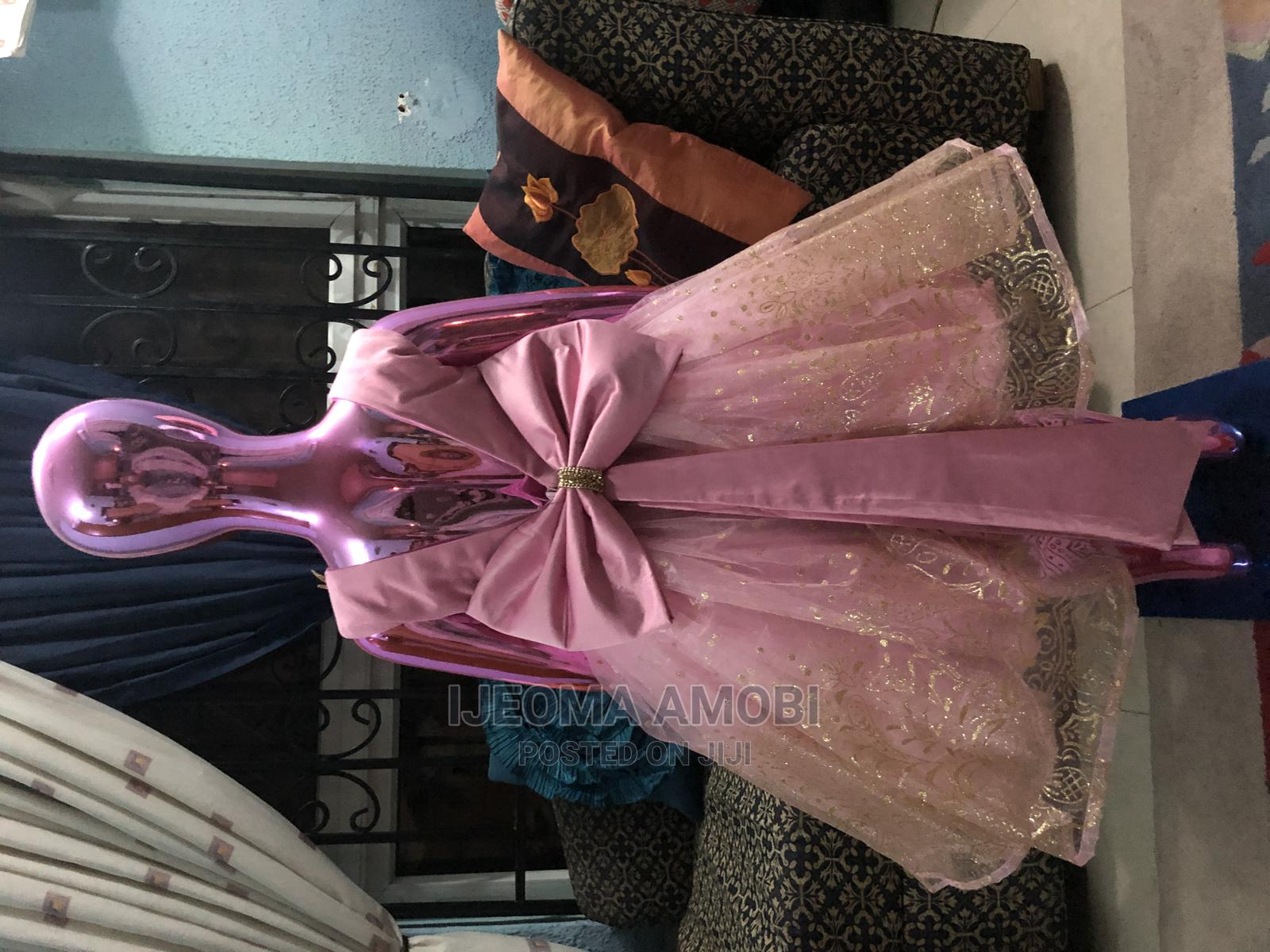 Pink Baby Ball Dress for Girls