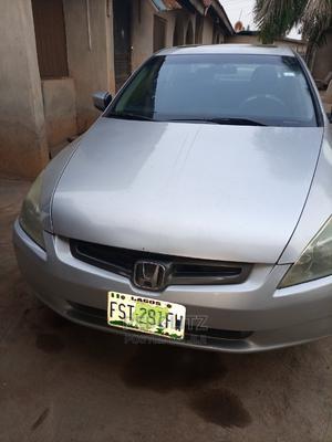 Honda Accord 2004 Sedan EX Silver   Cars for sale in Ondo State, Akure
