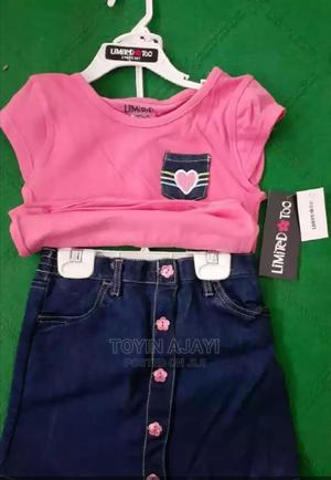 Toddler Top and Jean Skirt | Children's Clothing for sale in Lagos State, Ojodu