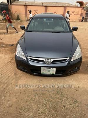 Honda Accord 2007 Sedan EX Gray   Cars for sale in Kaduna State, Kaduna / Kaduna State