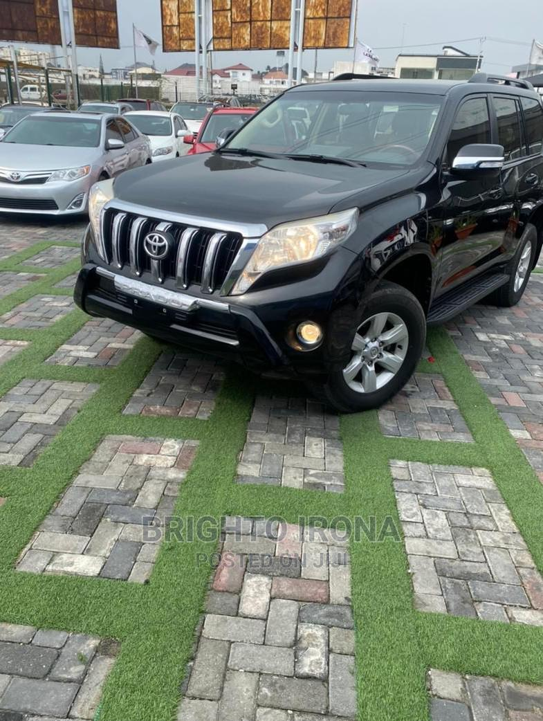 Toyota Land Cruiser Prado 2015 GXL Black | Cars for sale in Ikeja, Lagos State, Nigeria