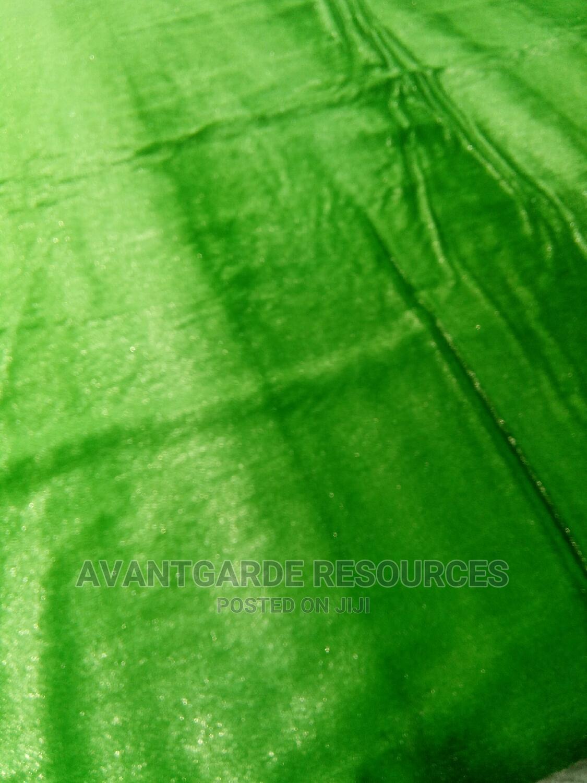 Green Grass Rug At Ilupeju