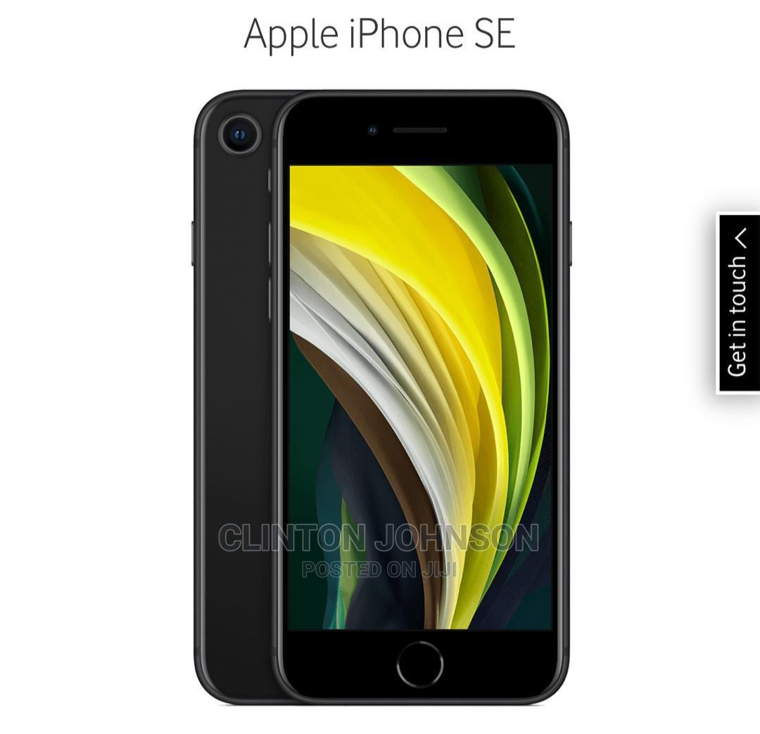 Archive: New Apple iPhone SE (2020) 64 GB Black