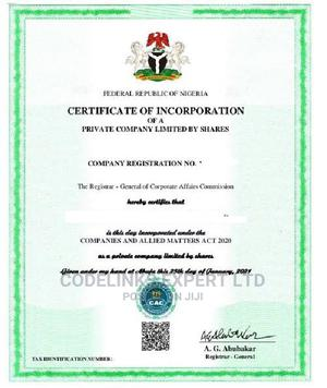 LTD Company/Business Registration Promo | Legal Services for sale in Lagos State, Ikeja