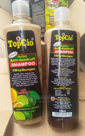 Topcio Herbal Anti-Dandruf Shampoo With Lime Extract | Hair Beauty for sale in Lagos State, Yaba