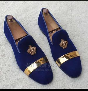 The Golden Crown Suede Loafers   Shoes for sale in Lagos State, Amuwo-Odofin