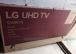Original LG UHD 55 Inches Smart TV With Magic Remote.   TV & DVD Equipment for sale in Lagos State, Ojo