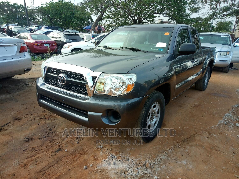 Toyota Tacoma 2011 Access Cab Automatic Gray | Cars for sale in Amuwo-Odofin, Lagos State, Nigeria
