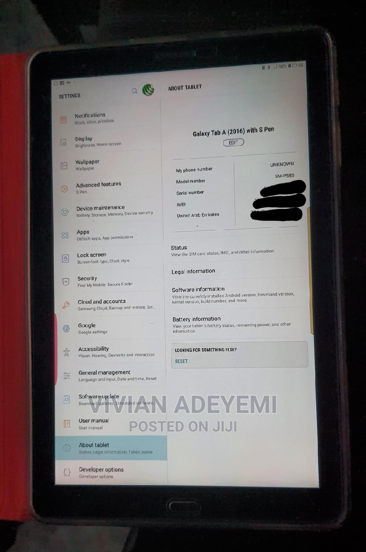 Archive: Samsung Galaxy Tab a 9.7 S Pen 16 GB Black