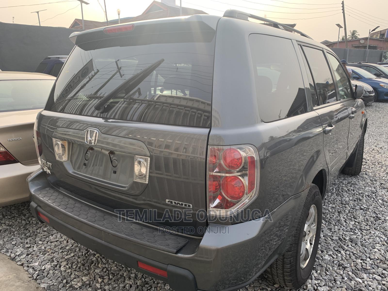 Honda Pilot 2007 Gray | Cars for sale in Ikeja, Lagos State, Nigeria