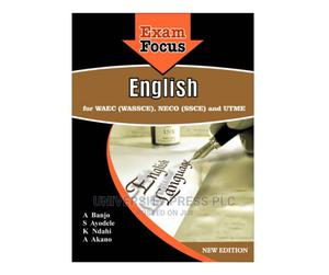 Exam Focus English for Waec (Wassce) Neco (Ssce) and Utme   Books & Games for sale in Oyo State, Ibadan