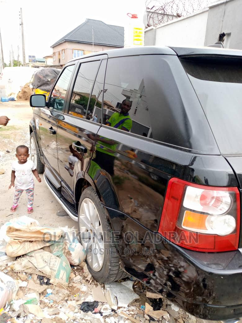 Land Rover Range Rover Sport 2006 Black | Cars for sale in Ikeja, Lagos State, Nigeria