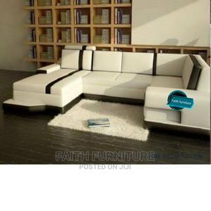 U Shape Leather Sofa   Furniture for sale in Lagos State, Ikeja