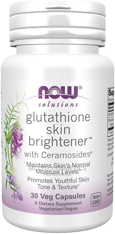 Now Solution Glutathione Skin Brightener With Ceramosides