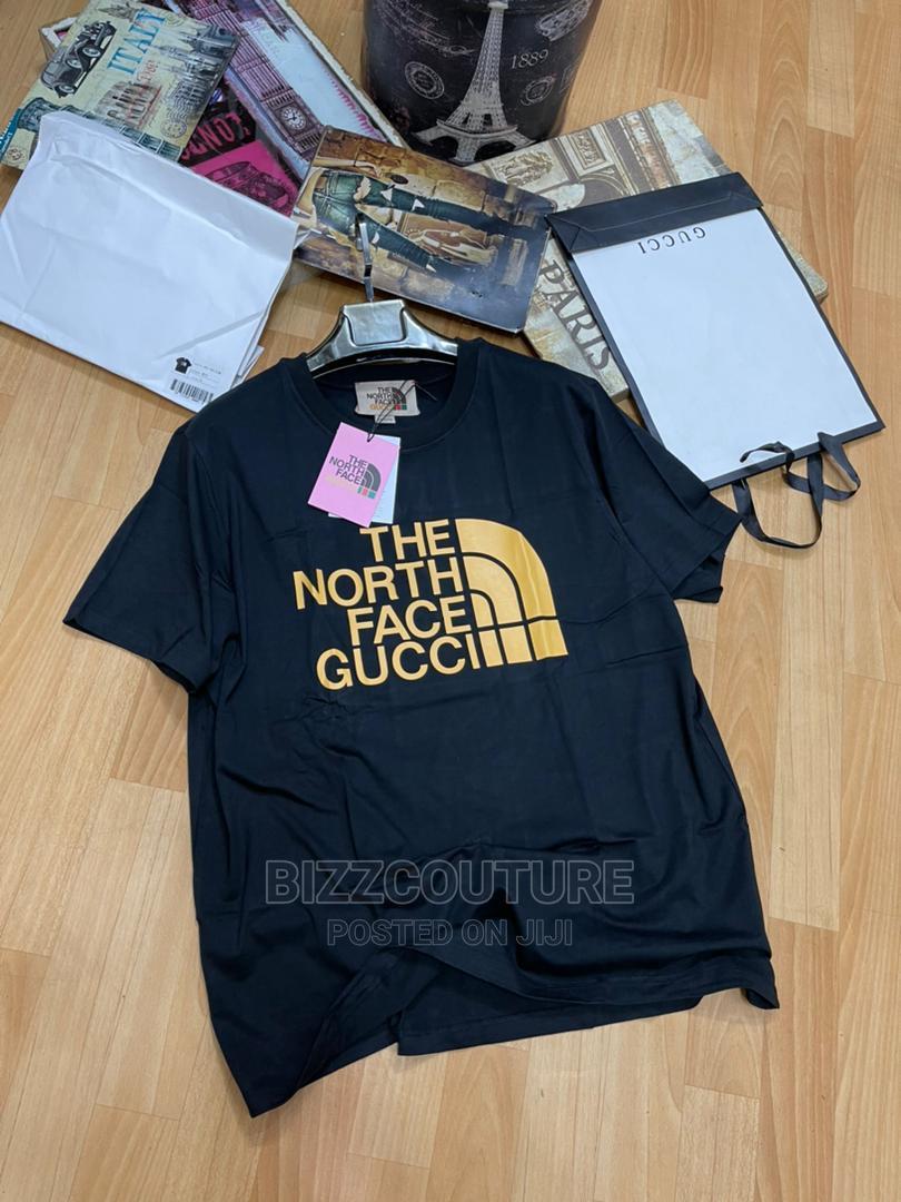 High Quality Gucci Black T-Shirts for Men