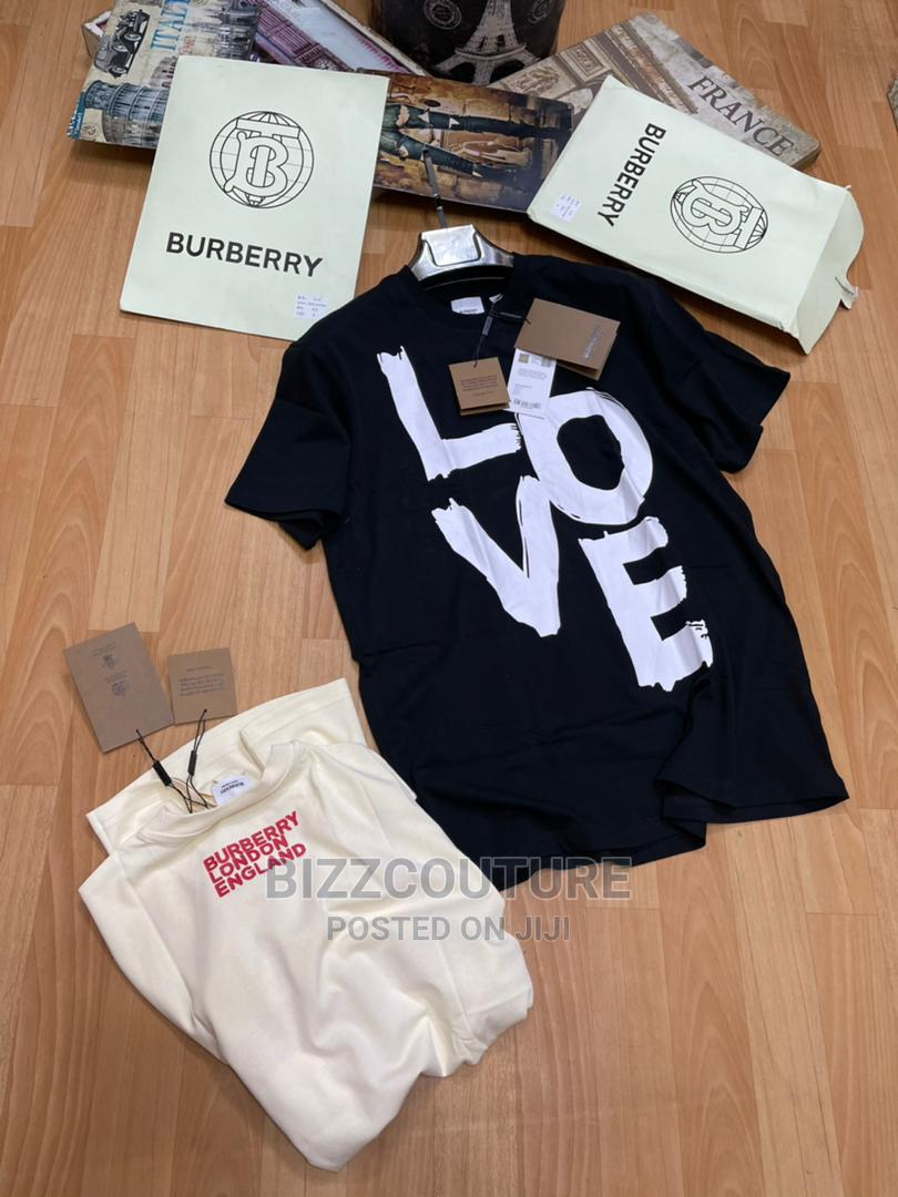 High Quality Burberry Black T-Shirts for Men