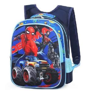Spiderman 3d School Backpack -15inchs Blue | Babies & Kids Accessories for sale in Lagos State, Ojodu