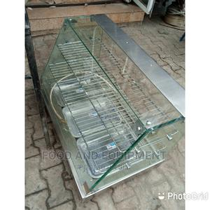 3 Plates Stainless Snacks Warmer With Double Shelve | Restaurant & Catering Equipment for sale in Lagos State, Yaba