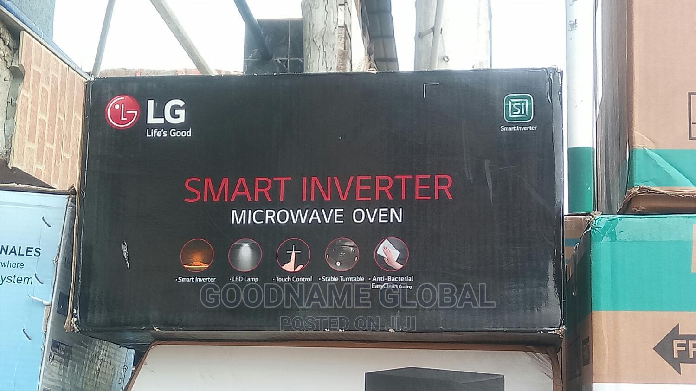 LG Smart Inverter Microwave Oven.