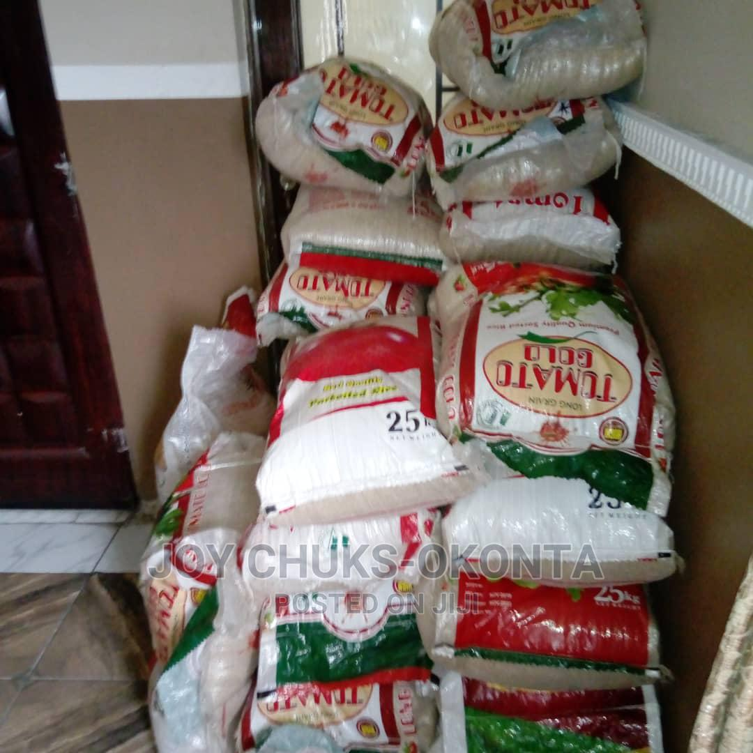 Bags of Rice- 25kg and 50kg