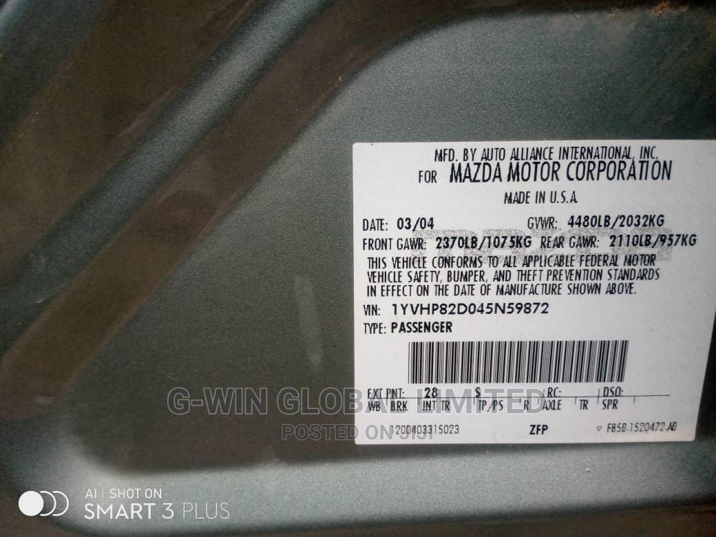 Mazda 6 2004 1.8 Comfort Gray | Cars for sale in Ikeja, Lagos State, Nigeria