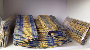 Adire Ankara Fabrics - Tye and Dye Fabrics Material 6 Yards   Clothing for sale in Abuja (FCT) State, Wuse