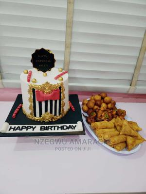 Cake And Small Chops Combo | Party, Catering & Event Services for sale in Abuja (FCT) State, Gwarinpa
