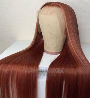 Bone Straight Human Hair With Frontal | Hair Beauty for sale in Ondo State, Akure
