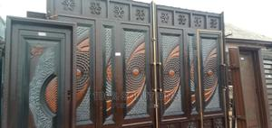 12ft by 8ft Double Plate Gate With Special Design for Sales   Doors for sale in Lagos State, Alimosho