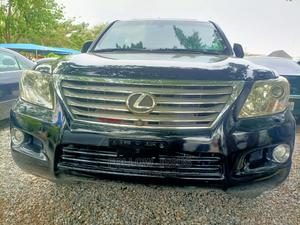 Lexus LX 2009 570 Black   Cars for sale in Abuja (FCT) State, Jahi