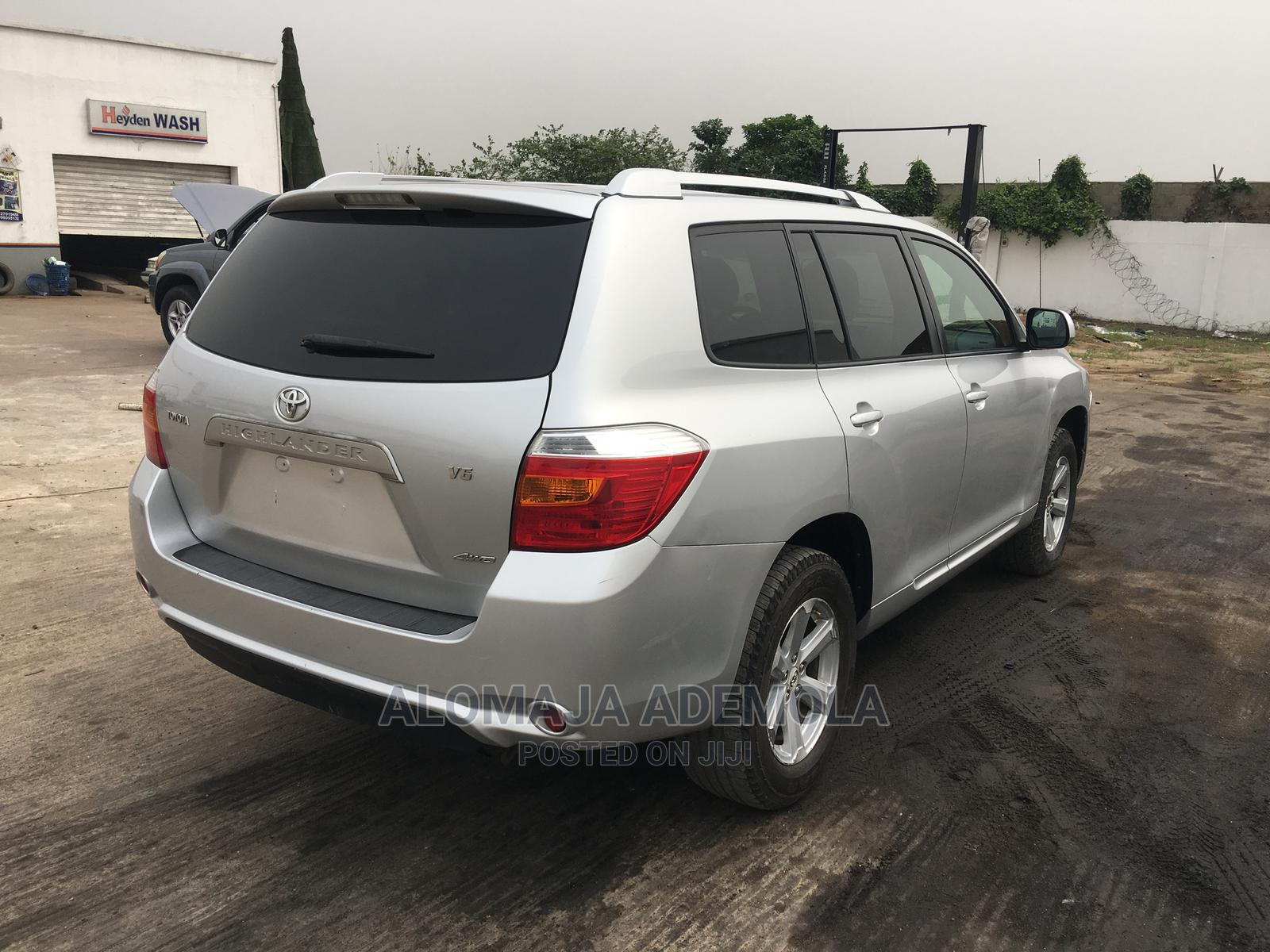 Toyota Highlander 2008 Silver | Cars for sale in Ikeja, Lagos State, Nigeria