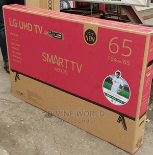 "LG 65""High Definition Uhd Smart 4K Netflix App Free Mount   TV & DVD Equipment for sale in Lagos State, Ikeja"