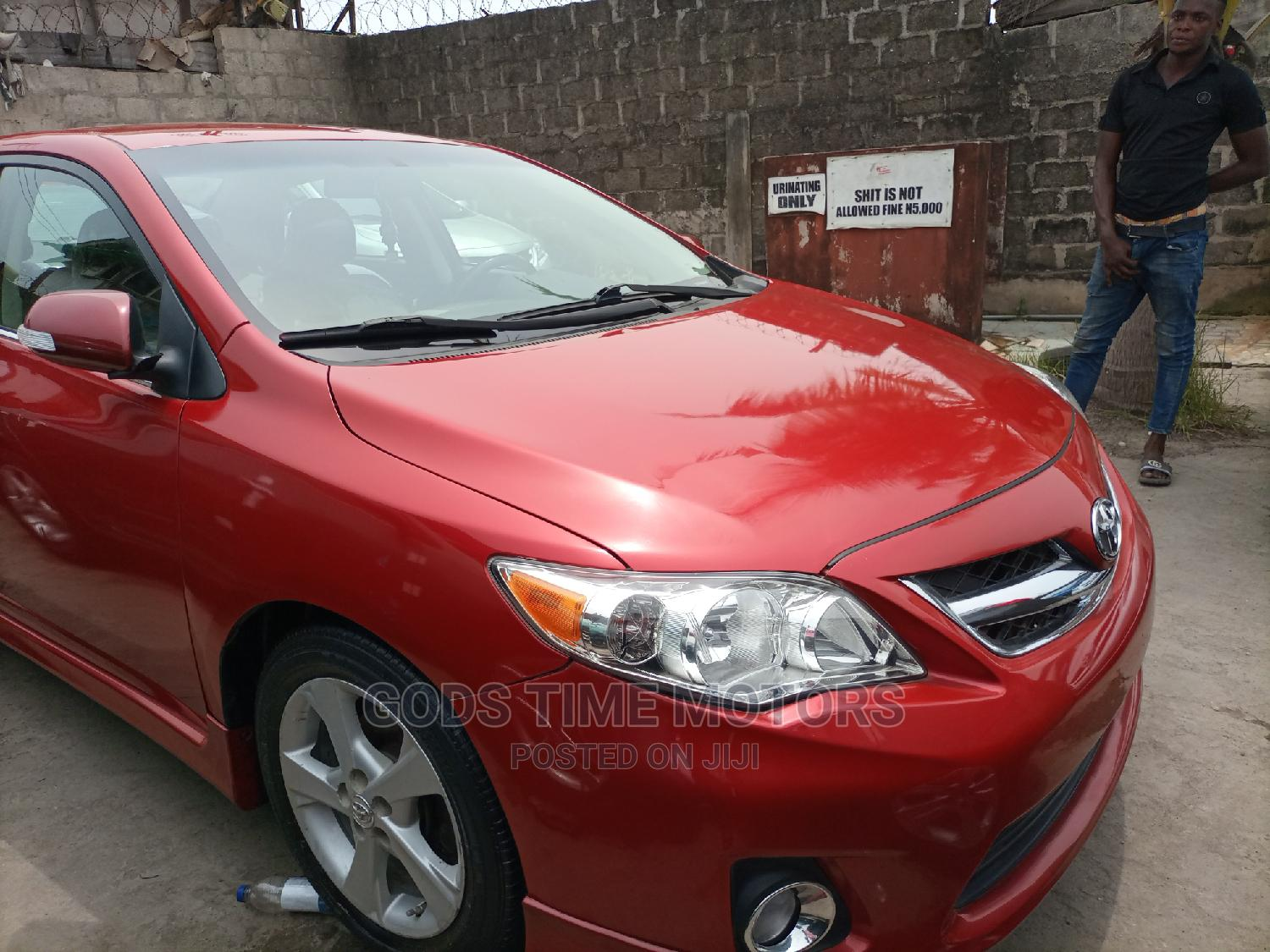 Toyota Corolla 2011 Red   Cars for sale in Apapa, Lagos State, Nigeria
