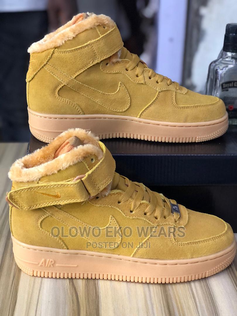 Nike Air Force 1 High Top Gary Colour | Shoes for sale in Lagos Island (Eko), Lagos State, Nigeria