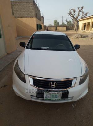 Honda Accord 2008 2.0i-Vtec Executive White | Cars for sale in Kano State, Fagge