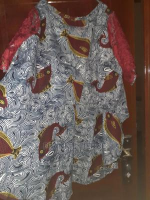 Ankara Crop Tail Top Lace Sleeves! ONESIZE* | Clothing for sale in Rivers State, Port-Harcourt