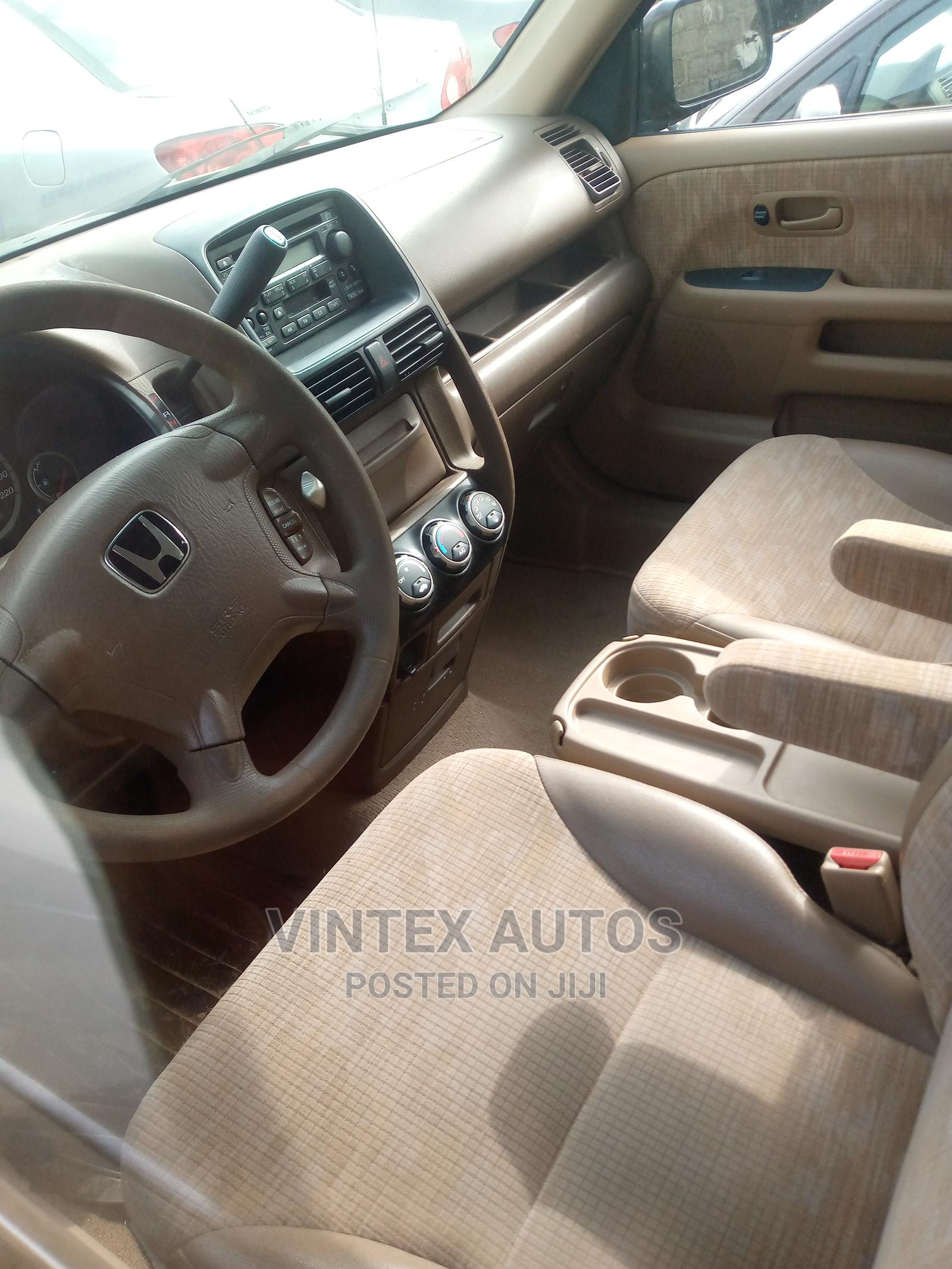 Honda CR-V 2004 2.0i ES Automatic Gold | Cars for sale in Amuwo-Odofin, Lagos State, Nigeria