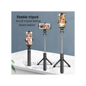 2021 New Selfie Stick and Bluetooth Remote Control | Accessories for Mobile Phones & Tablets for sale in Lagos State, Ikotun/Igando