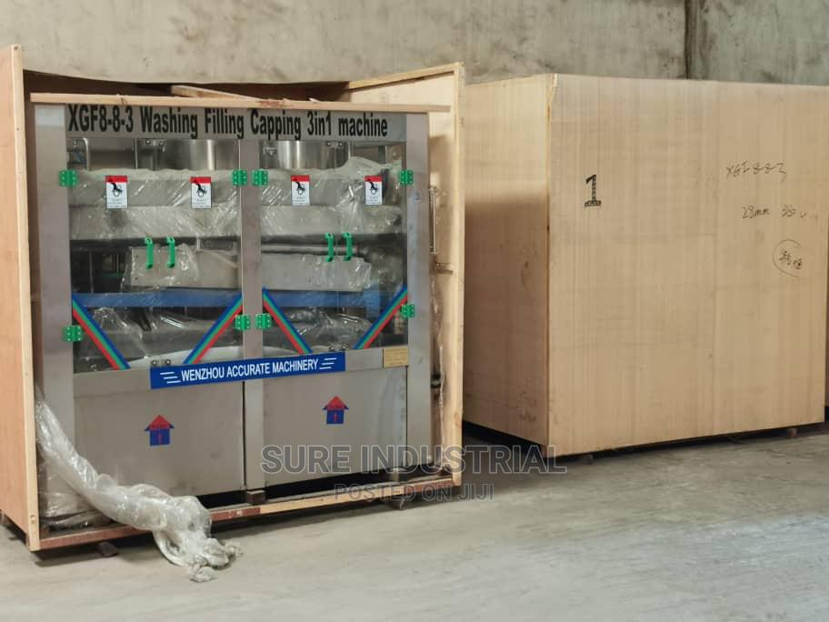 Water Machine Bottle Water Machine   Manufacturing Equipment for sale in Ojo, Lagos State, Nigeria